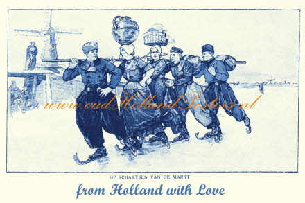 from Holland with love skating from the market